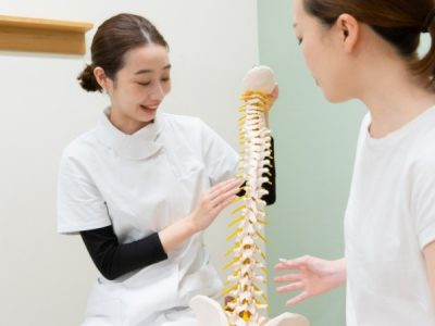 手術後のリハビリと次に行う右膝の骨切術までの身体ケア目的で来院