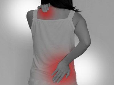 肩の痛み・腰痛で来院